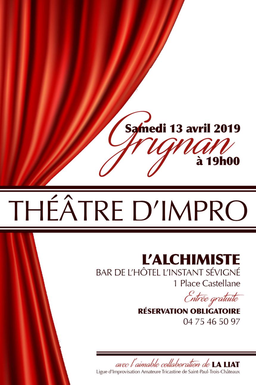 Théâtre Impro Bar Lounge L'Alchimiste